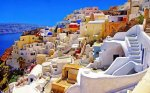 Santorini in Greece